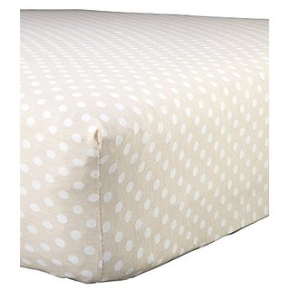 Abstract Baby Polka Dot Print Extra Deep Fitted Jersey Crib Sheet (24