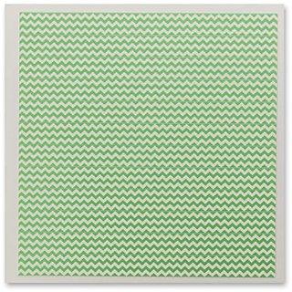 DecoPac Fondant DecoShapes Strips, Pastel Green Chevron, 5.7 Ounce
