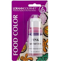 Lorann Oils Liquid Food Color, 1 Oz, Pink