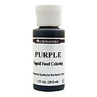 Lorann Oils Liquid Food Color, 1-Ounce, Purple