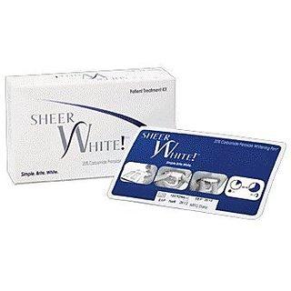 10 Strips Total (5 Upper and 5 Lower) - Sheer White Teeth Whitening Strips