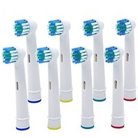 Perfect World Oral-b Dual Clean Replacement Toothbrush Heads SB-17A Oral-b Compatible Electric Replacement Toothbrush He