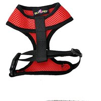 All4pet DH-V50R Comfort Control Dog And Cat Easy Walking Harness Padded Vest, Medium, Red