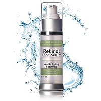 Retinol Serum For Proven Skin Treatment & Retinol Skin Rejuvenation Ageless Looking Skin With Vitamins A E Activates Col