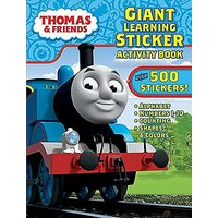 Bendon Thomas & Friends Giant Learning Sticker Activity Book Including Over 500 Stickers