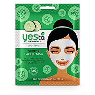 Yes to Cucumbers Paper Mask
