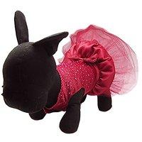 Alfie Pet By Petoga Couture - Shirley Tutu Party Dress - Color: Burdundy, Size: XL