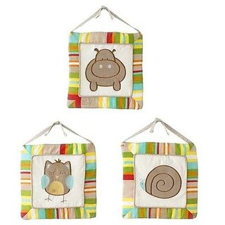 Pem America A-Z Wall Hangings - Set Of 3