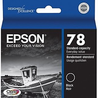 EpsonT078120 Claria Ink, 450 Page-Yield, Black
