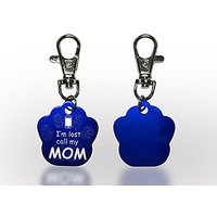 Dog Tags Personlized - Engraving Not Included - Anodised Aluminium - Blue - Jet Storm Pets - Pet Id Tags - 100% Money Ba