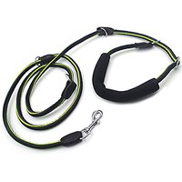YOGADOG 8ft Multi-Function Nylon Rope Slip Dog Leash With Padded, Special Non-slip Design. For Medium And Large Dogs