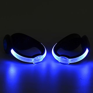 SPEED Running Shoe Clips Multipurpose USB Rechargeable Outdoor Sports Waterproof LED Luminous Safety Shoe Accessories 60 available at ShopClues for Rs.3058