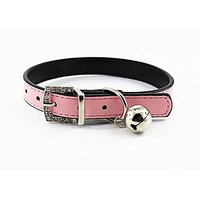 Nugoo 106 Cute Pet Dog Cat Kitty Puppy Wear Adjustable Cozy Bow Tie Collar (Pink)