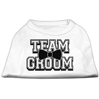Mirage Pet Products 18-Inch Team Groom Screen Print Shirt For Pets, XX-Large, White