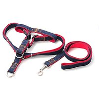 Ennc Pet Jean Lead Rope With Adjustable Chest Back Belt Fashion Training And Walking Dog Leash Harness For Small,Medium