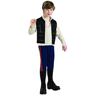 Star Wars Deluxe Han Solo Childs Costume, Large