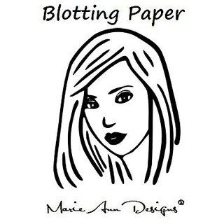 Marie Ann Designs Makeup Blotting Paper, 100 Sheets per Pack