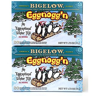 Bigelow Eggnoggn Tea, 1.73 Box (Pack of 2)