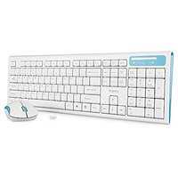 MOFII Wireless Keyboard And Mouse,Wireless Keyboard And Mouse Combo For PC/Mac/Laptop (White)