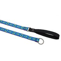 Lupine 1-Inch Sea Glass Slip Lead For Medium And Large Dogs, 6-Feet