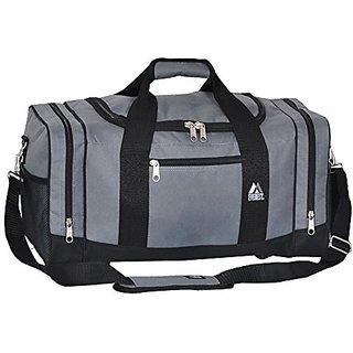 Everest Sporty Crossover Duffel Bag, Dark Gray