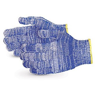 Superior SNWCPNT Emerald CX Nylon/Polyester/Cotton/Stainless Steel Wire-Core Composite-Knit Glove with Nitrile Palms, Wo