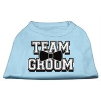 Mirage Pet Products 18-Inch Team Groom Screen Print Shirt For Pets, XX-Large, Baby Blue