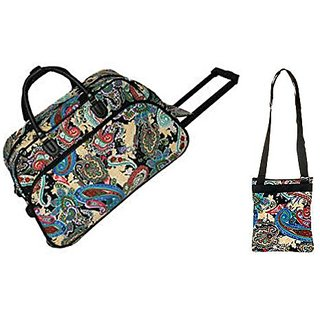 Carry On Rolling Duffel Travel Set 21