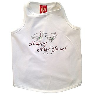 The Dog Squad New Years with a Twist Tank Top for Dogs, Small