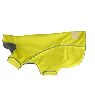 OllyDog Rain Coat, Medium, Yellow