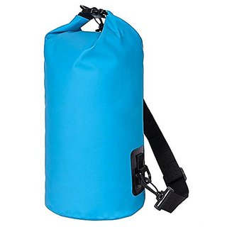 NKTM 20L Dry Bag Water Resistance Sack with Adjustable Shoulder Strap Roll Top Dry Bags for Boating Kayaking Fishing Raf