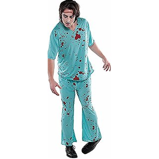 Bloody Scrubs Costume - Standard - Chest Size 42