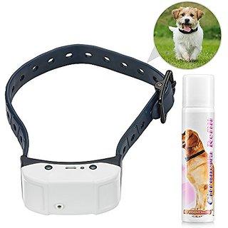 Chargeable Anti-bark Spray Collar - Citronella - No Bark Collar - Pet Leash Collar - Pet Behavior Deterrent - Bark Contr