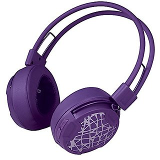 ARCTIC P604 Wireless (Purple), Dynamic Bluetooth 4.0 Headphones, On-Ear Design with Smart Control and Integrated Microph