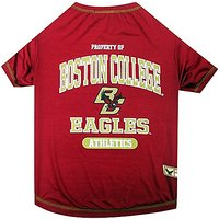 Pets First Collegiate Boston College Eagles Dog Tee Shirt, Small