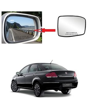 Carsaaz Right Side Sub-Mirror Plate for Fiat Linea