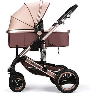 Miami Dress Luxury Newborn Baby Strollers Travel Systems Carriage Toddler Infant Stroller Pushchair Pram Foldable Anti-s