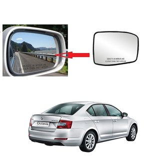 Carsaaz Right Side Sub-Mirror Plate for Skoda Octavia