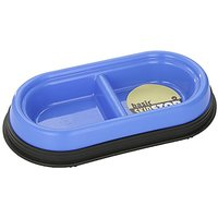 JW Pet Company Skid Stop Basic Double Diner For Pets, Small, Colors Vary
