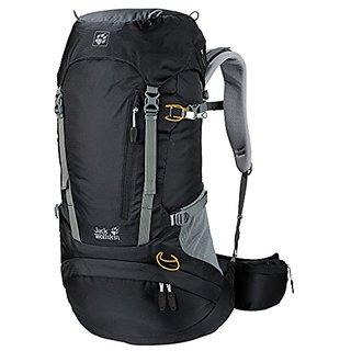 Jack Wolfskin ACS Hike Pack Rucksack, Black, 38 L