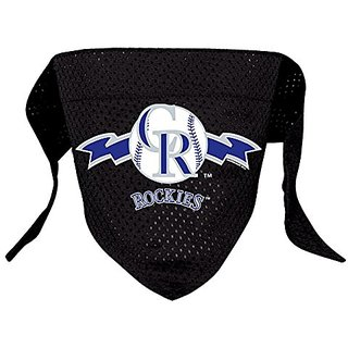 Hunter MFG Colorado Rockies Mesh Dog Bandana, Small
