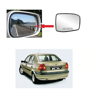 Carsaaz Left Side Sub-Mirror Plate for Ford Ikon