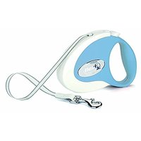 Flexi Fresh Soft Retractable Belt Dog Leash Safety Pet Extend Collar Medium Blue