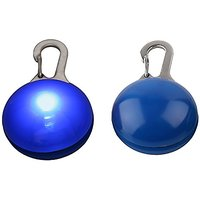 LED Clip-on Pet Dog Tag Safety Light (Blue)