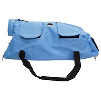 Kruuse Buster No Scratch Pet Examination Bag, 12-16 Lb, Light Blue
