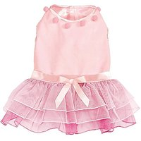 Zack & Zoey Elements Snow Princess Dress For Dogs, X-Large