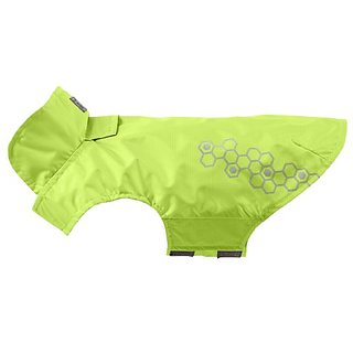 RC Pet Products Venture Shell Reflective, Waterproof Dog Coat, Size 28, Lime Punch