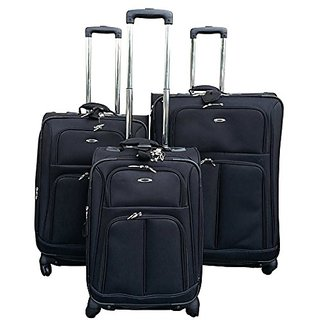 Kemyer 1000 3 Piece Set of Expandable Spinner Luggage - 29