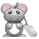 Microware 16GB Bunny Rate Mouse Shape Designer Fancy Pendrive
