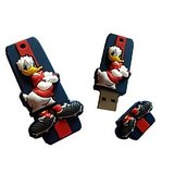 Microware 16GB Donald Duck Shape Designer Fancy  Pendrive